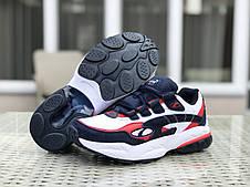 Осенние мужские кроссовки (в стиле) Puma Cell Venom,белые с синим, фото 3
