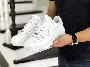 Кроссовки (в стиле) мужские Nike Air Force,белые, фото 2