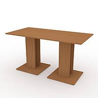 Стол кухонный КС-8 бук Компанит (140х70х74 см)