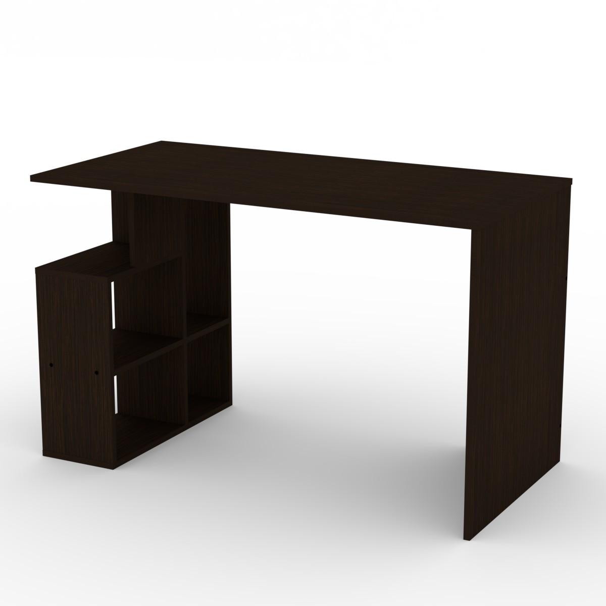 Стол письменный Ученик-3 венге темный Компанит (120х60х74 см)