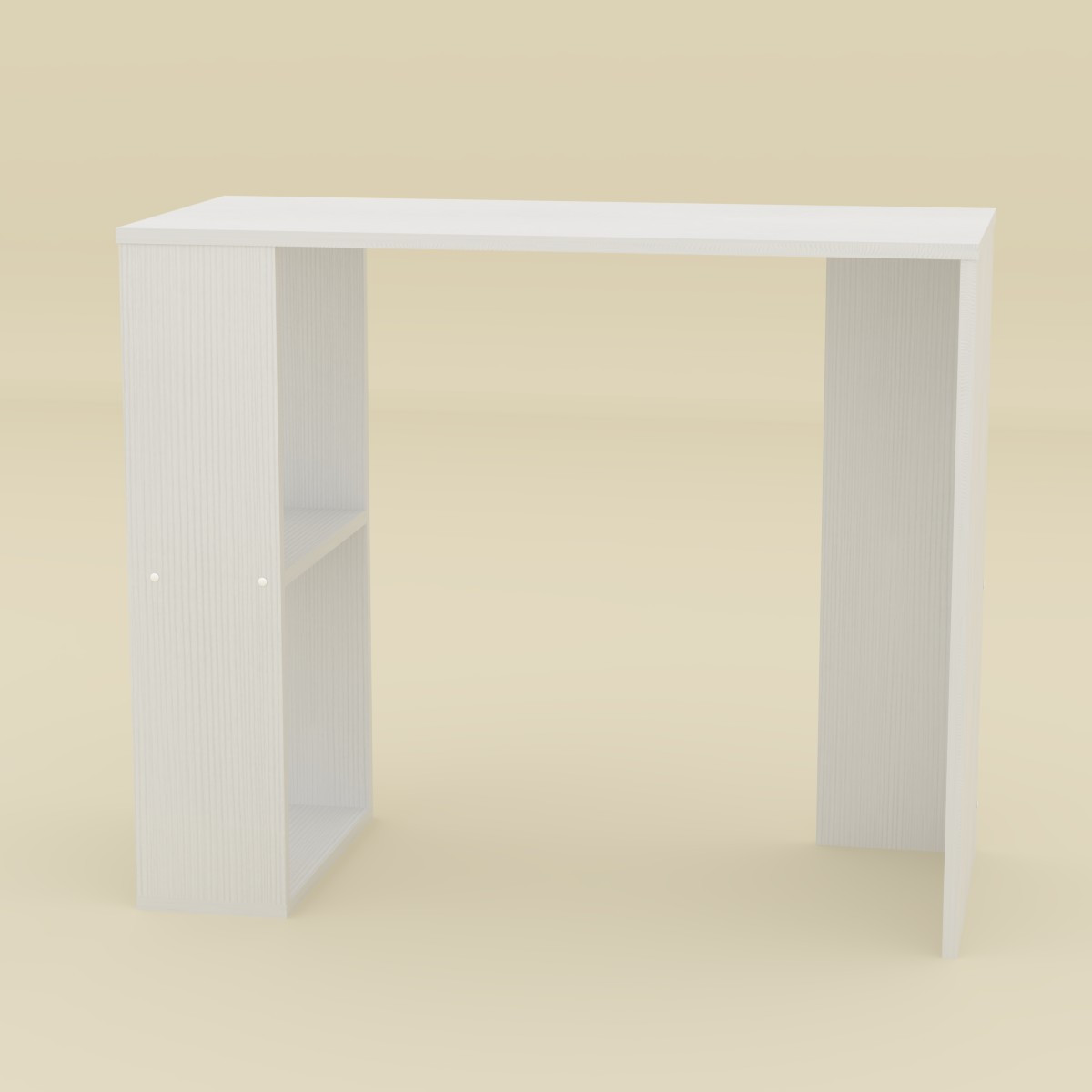Стол письменный Юниор-2 белый Компанит (90х40х75 см)
