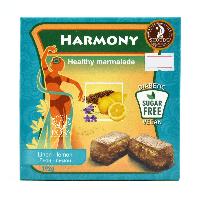 """Мармелад """"Harmony""""  лен-лимон SHOUDE, для здоровья, молодости и красоты на пектине,упаковка192г"""