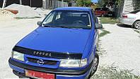 Мухобойка, дефлектор капота Opel Vectra A с 1989-1996 г.в.
