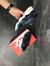 Мужские кроссовки (в стиле) Nike Air Huarache Fragment Design,темно синие, фото 2