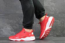 Мужские кроссовки (в стиле) Nike Air Huarache Fragment Design,красные, фото 2