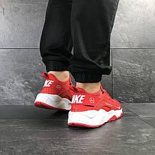 Мужские кроссовки (в стиле) Nike Air Huarache Fragment Design,красные, фото 3