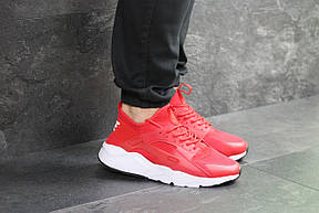 Мужские кроссовки (в стиле) Nike Air Huarache,красные, фото 2