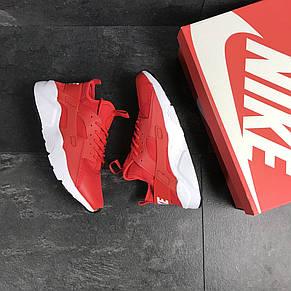 Мужские кроссовки (в стиле) Nike Air Huarache,красные, фото 3