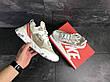 Мужские кроссовки (в стиле) Nike Undercover X Nike React Element 87,бежевые, фото 2