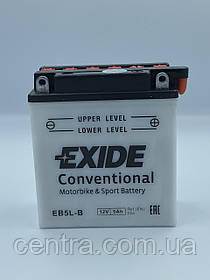 Мото аккумулятор EXIDE EB5L-BS