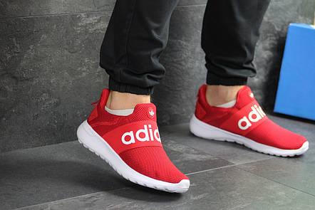 Мужские летние кроссовки (в стиле) Adidas,красные,сетка, фото 2