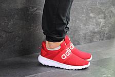 Мужские летние кроссовки (в стиле) Adidas,красные,сетка, фото 3