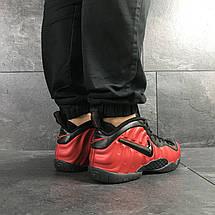 Мужские кроссовки (в стиле) Nike Air Foamposite Pro,красные с черным, фото 3