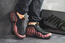 Мужские кроссовки (в стиле) Nike Air Foamposite Pro,черные с  медным, фото 3