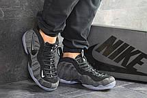 Мужские кроссовки (в стиле) Nike Air Foamposite Pro,серые с черным, фото 2