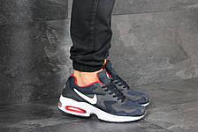 Кроссовки (в стиле) мужские Nike Air Max 2,темно синие с красным, фото 3