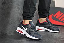 Кроссовки (в стиле) мужские Nike Air Max 2,темно синие с красным, фото 2