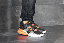 Кроссовки (в стиле) мужские Nike Air Force 270,черные с оранжевым 44р, фото 3