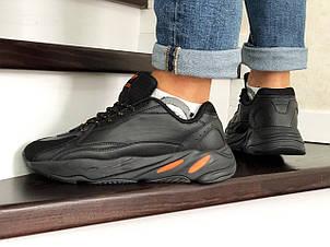 Мужские кроссовки (в стиле) Adidas Yeezy Boost 700,черные, фото 2