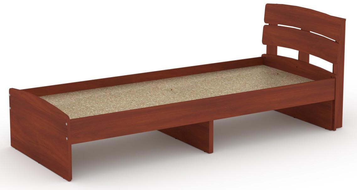 Кровать без ящиков Модерн-80 КОМПАНИТ Яблоня (213.2х85.2х80 см)