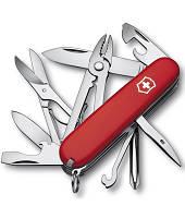 Нож Victorinox Викторинокс Deluxe-Tinker 91 мм 17 предметов красный