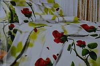 Полуторное постельное белье  Лилия с HD эффектом - бутоны роз