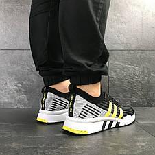 Кроссовки (в стиле) мужские Adidas Equipment adv 91/18,черные с желтым, фото 3