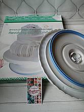 Обертовий Столик для декорування пластик антиковзання