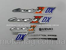 Наклейка Suzuki Lets