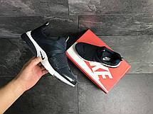 Мужские кроссовки (в стиле) Nike air presto,текстиль,темно синие с белым, фото 3