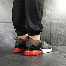 Мужские кроссовки (в стиле) Nike,сетка,серые, фото 3