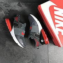 Мужские кроссовки (в стиле) Nike,сетка,серые, фото 2