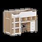 Кровать-чердак 2 с матрасом сонома + белый Эверест (193х96х137 см), фото 3