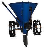 Картофелесажалка ленточная АПК-3 (транспортировочные колеса) КС4, фото 4