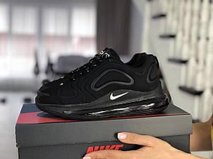 Модные женские кроссовки (в стиле) Nike Air Max 720,черные, фото 2