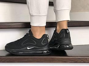 Модные женские кроссовки (в стиле) Nike Air Max 720,черные, фото 3