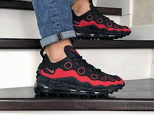 Мужские кроссовки (в стиле) Nike air max 720 ISPA,черные с красным, фото 2