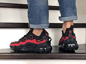 Мужские кроссовки (в стиле) Nike air max 720 ISPA,черные с красным, фото 3