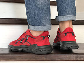 Кроссовки (в стиле) мужские Adidas Ozweego TR,красные, фото 3