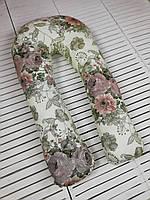 U-образная Подушка для беременных мам Королевский сад