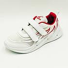 Кроссовки детские GABIS C994-20 100904 33 21.0 см Белый с красным, фото 2
