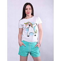 Женские летние шорты с пояском, фото 2