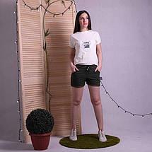 Женские летние шорты с пояском, фото 3