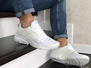 Кроссовки (в стиле) Nike air presto TP QS текстиль,белые, фото 2