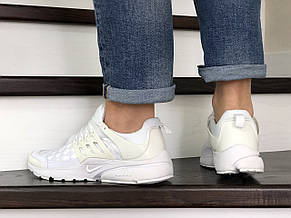 Кроссовки (в стиле) Nike air presto TP QS текстиль,белые, фото 3