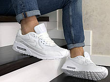 Мужские кроссовки (в стиле) Nike air max 90,белые, фото 3