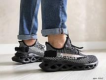 Мужские кроссовки (в стиле) Off White,черно-белые, фото 2