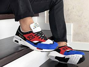 Мужские кроссовки (в стиле) New Balance 1500,красные с синим, фото 2