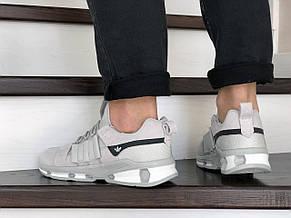 Кроссовки (в стиле) Adidas,замшевые,светло серые, фото 2
