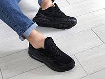 Модные кроссовки (в стиле) Nike Air Max 270 React,черные, фото 3